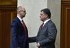 Арсений Яценюк и Петр Порошенко. Фото: president.gov.ua