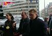 Алексей Миллер на газовых переговорах в Брюсселе. Кадр Первого канала