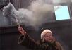 """Акция в поддержку Надежды Савченко у Госдумы. Кадр """"Граней"""""""