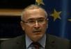 Михаил Ходорковский в Европарламенте. Кадр видеотрансляции