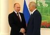 Владимир Путин и Ислам Каримов. Фото пресс-службы Кремля