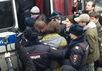 Задержание оппозиционеров перед пресс-конференцией Путина 18.12.2014. Фото: Грани.Ру