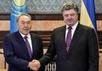 Нурсултан Назарбаев и Петр Порошенко. Фото: president.gov.ua