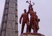 Монумент идеологии чучхэ в Пхеньяне. Фото: Википедия