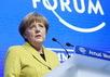 Ангела Меркель на форуме в Давосе, 22.01.2015. Фото: bundeskanzlerin.de