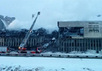 Пожар в здании ИНИОН. Фото: Юрий Тимофеев/Грани