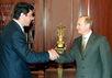 Борис Немцов и Владимир Путин. Фото: kremlin.ru