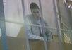 Надежда Савченко на видеосвязи с Мосгорсудом, 25.02.2015. Фото: Грани.Ру