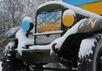 """""""Катюша"""" в цветах украинского флага и с эмблемами """"Азова"""". Фото: sibkray.ru"""