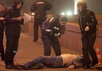 Правоохранители у трупа Бориса Немцова. Фото: martin.livejournal.com