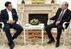 Премьер-министр Греции Алексис Ципрас и Владимир Путин. Фото пресс-службы Кремля