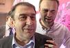 Андрей Нечаев и Алексей Навальный. Кадр Грани-ТВ