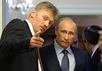 Дмитрий Песков и Владимир Путин. Фото: adi19.ru