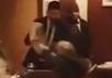 Нападение на Михаила Касьянова в ресторане La Bottega Siciliana. Кадр видео