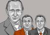 Путин и его друзья. Иллюстрация с сайта occrp.org