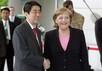 Синдзо Абэ и Ангела Меркель. Фото: bundeskanzlerin.de