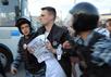 Задержания на Болотной площади 6 мая 2016 года. Фото Дмитрия Борко