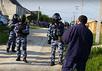 Обыски в Бахчисарае. Кадр видеоролика