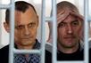 Николай Карпюк и Станислав Клых в суде, 17.05.2016. Фото Антона Наумлюка