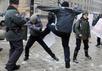 Нападение на пикет в Воронеже 20 января 2013 года. Фото с сайта yhrm.org