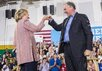 Хиллари Клинтон и Тим Кейн. Фото: @HillaryClinton