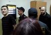 Максим Панфилов и Дмитрий Бученков в суде, 29.08.2016