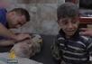 После российского налета на гуманитарный конвой ООН под Алеппо. Кадр Al Jazeera