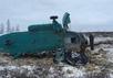 Спасатели у разбившегося Ми-8 на Ямале. Фото: 89.mchs.gov.ru