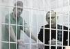 Станислав Клых и Николай Карпюк на рассмотрении апелляции. Фото Дмитрия Борко/Грани.Ру