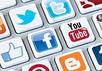 Логотипы популярных соцсетей. Фото: cariblogger.com
