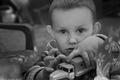 Внук Алексея Пичугина в гостях у Лии Ахеджаковой. Фото Владимира Телегина
