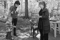 Артем и Наталья Пичугины в гостях у Лии Ахеджаковой. Фото Владимира Телегина