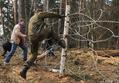 Атака на заграждения в Цаговском лесу. Фото Вероники Максимюк/Грани.Ру