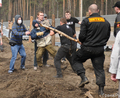 Драка в Цаговском лесу. Фото Вероники Максимюк/Грани.Ру