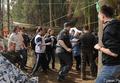Столкновения в Цаговском лесу. Фото Вероники Максимюк/Грани.Ру