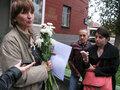 Ольга Зеленина после освобождения. Фото Наталии Деминой