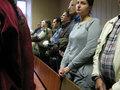 В Зюзинском суде перед оглашением решения об освобождении Ольги Зелениной. Фото Наталии Деминой