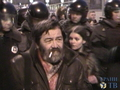 Сергей Мохнаткин на Триумфальной. Кадр Грани-ТВ
