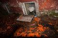 Офис Станислава Дмитриевского после нападения. Фото Юрия Староверова