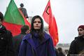 Акция в защиту антифашистов. Изабель Магкоева. Фото Л.Барковой/Грани.Ру