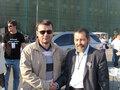 Василий Цепенда и бывший политзек Сергей Мохнаткин на Болотной 6 мая 2012 г. Фото с личной страницы ВКонтакте