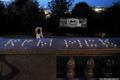 Годовщина трагедии Крыска. Смотровая площадка Воробьевых гор, 6 июля 2013 г. Фото Ники Максимюк