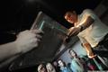 """Аукцион в """"Артефаке"""" в поддержку политзеков. Петр Офицеров. Фото Ники Максимюк/Грани.Ру"""
