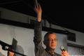 """Аукцион в """"Артефаке"""" в поддержку политзеков. Лев Рубинштейн. Фото Ники Максимюк/Грани.Ру"""
