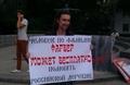 Пикет в защиту Ильи Фарбера. Фото Дмитрия Зыкова/Грани.Ру