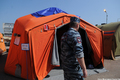 Гольяновский лагерь мигрантов. Фото Ники Максимюк