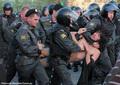 Задержание Андрея Барабанова на Болотной 6 мая сотрудниками 2-го оперполка. Фото Евгении Михеевой/Грани.ру