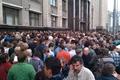 Сход ученых у Госдумы 18 сентября. Фото Ники Максимюк/Грани.Ру