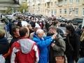 У суда в день приговора Михаилу Косенко. Фото Грани.Ру