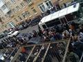 Автобус для задержанных у Замоскворецкого суда. Фото Грани.Ру